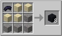 Minecraft черный бетон модульный забор из бетона купить