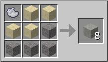 minecraft серый бетон