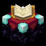 Как сделать чародейский стол в Minecraft