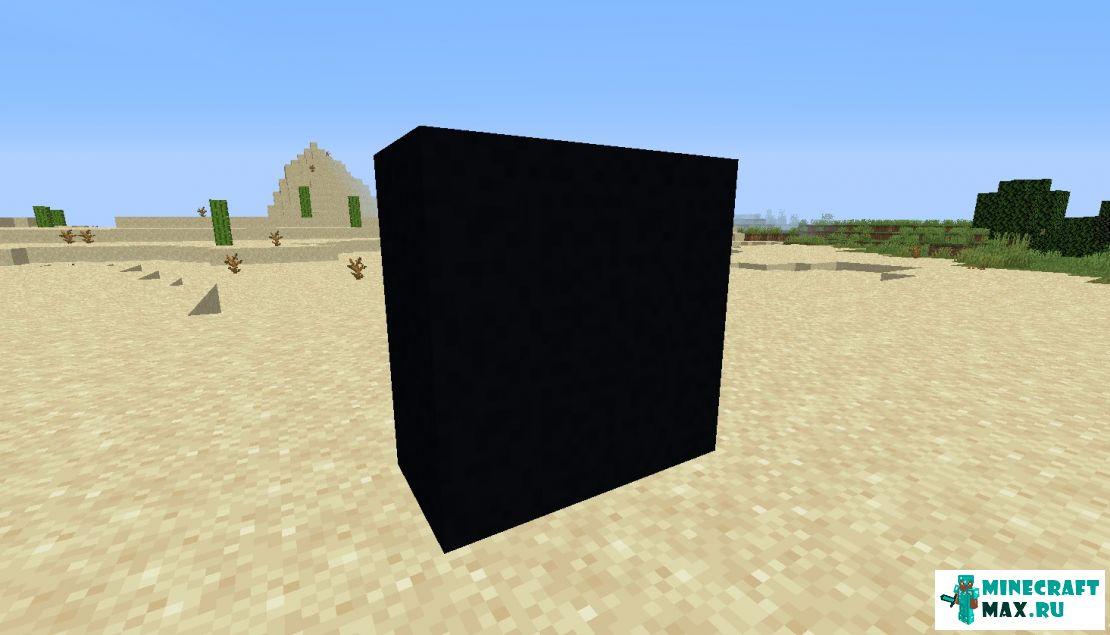 Minecraft черный бетон гранитный щебень или гравий на бетон